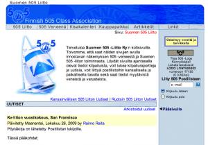 http://www.int505.fi (2000-2009)